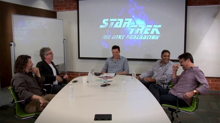 Former Trek writers convene to discuss their favorite moments; photo courtesy CBS Films/Paramount, 2013