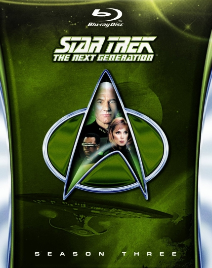 Next Generation Blu-Ray Season Three Cover Art, courtesy Paramount, 2013