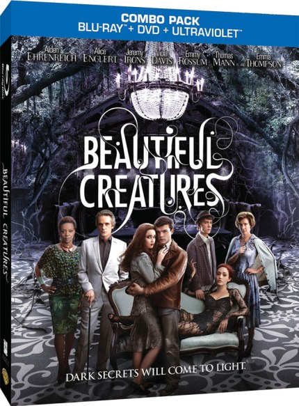 Blu-Ray Cover Art for Beautiful Creatures, courtesy Warner Home Video, 2013