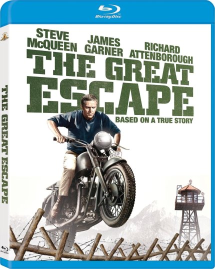 Blu-Ray Cover Art for The Great Escape, courtesy Fox Home Video, 2013