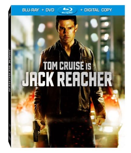 Jack Reacher Blu-Ray Cover Art, courtesy Paramount Home Video, 2013