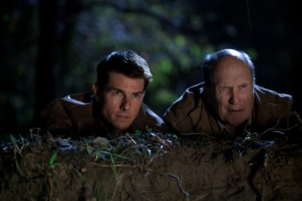 Cruise with Robert Duvall in JACK REACHER, courtesy Paramount, 2013