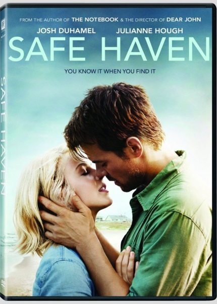 DVD Cover Art for Safe Haven, courtesy Alliance, 2013