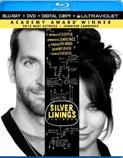 Blu-Ray Cover Art for Silver Linings Playbook, courtesy Alliance, 2013