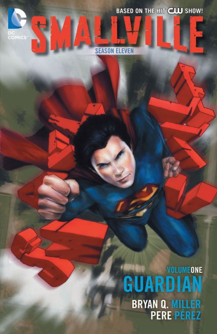 Cover Art for Smallville Season 11, Vol. 1, courtesy DC Comics, 2013