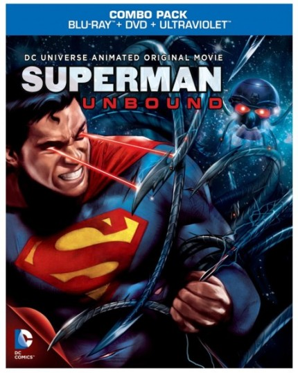 Superman Unbound Blu-Ray Cover Art courtesy Warner Home Video, 2013