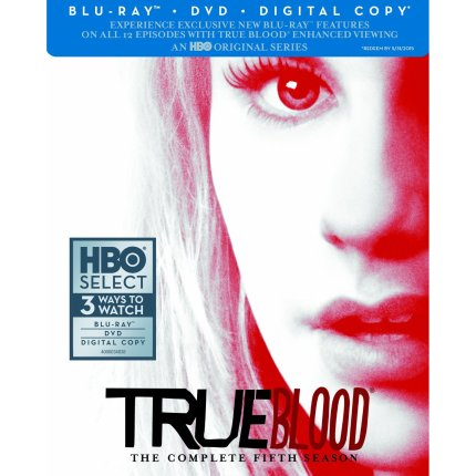 Blu-Ray Cover Art for TRUE BLOOD Season Five, courtesy HBO, 2013