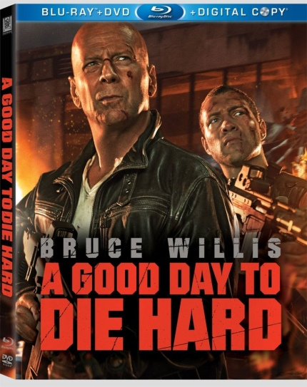 A Good Day to Die Hard Blu-Ray Cover, courtesy Fox Home Video, 2013