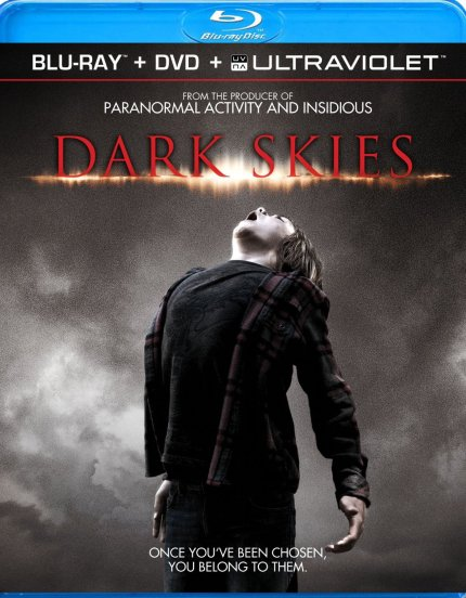 Dark Skies Blu-Ray Cover Art, courtesy Alliance, 2013