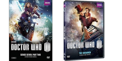 Latest DVD Releases for Doctor Who, courtesy BBC America, 2013