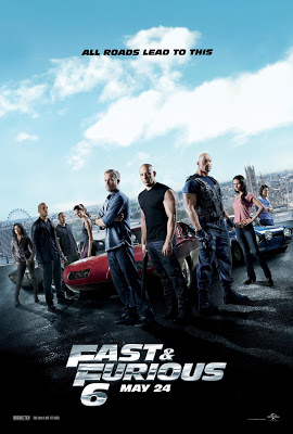 Theatrical Poster for Fast and Furious 6, courtesy Universal, 2013