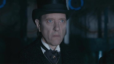 Richard E. Grant as Dr.Simeon/The Great Intelligence, in DOCTOR WHO, courtesy BBC America, 2013